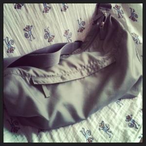 T'as quoi dans ton sac à langer?