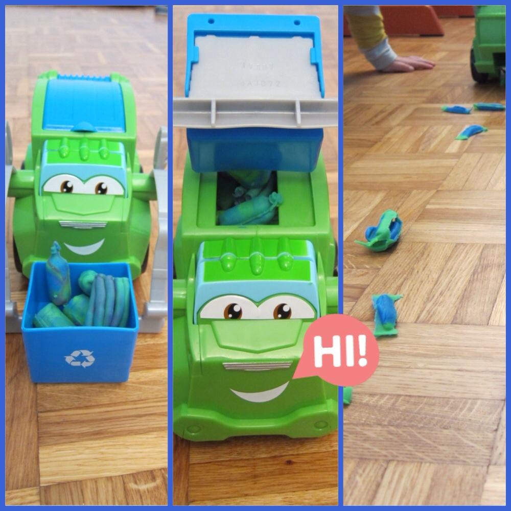 Un camion poubelle trop rigolo (test & avis)   Cookies Mum Le Blog