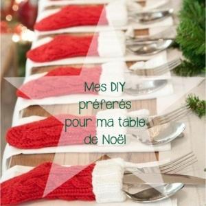 Mes DIY préférés pour ma table de Noël