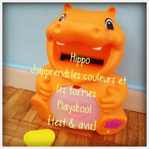 Un petit animal est arrivé à la maison! Il s'appelle Hippo...(test & avis)