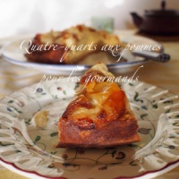 Quatre-quarts aux pommes pour les gourmands {Les petits plats du lundi}