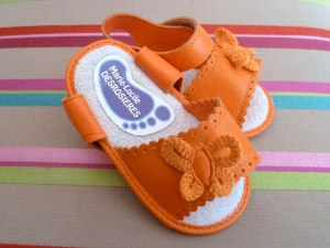 chaussures-orange
